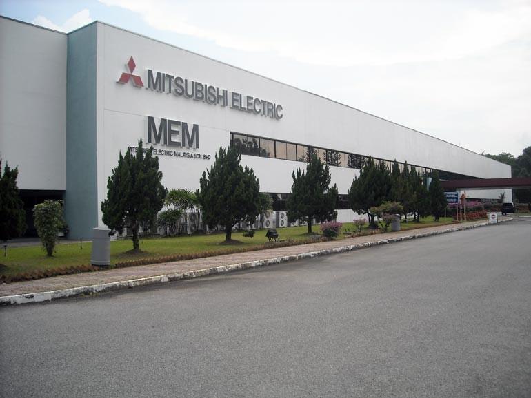 Завод Mitsubishi Electric по производству кондиционеров