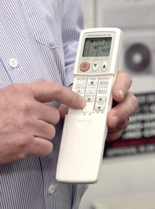 Пульт дистанционного управления для кондиционера Mitsubishi Electric
